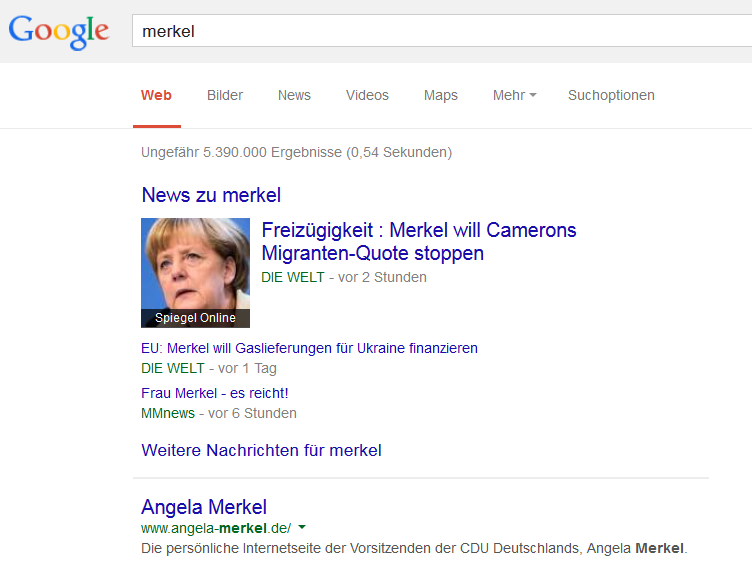 onebox news merkel