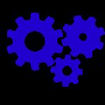 zahnraeder-blau